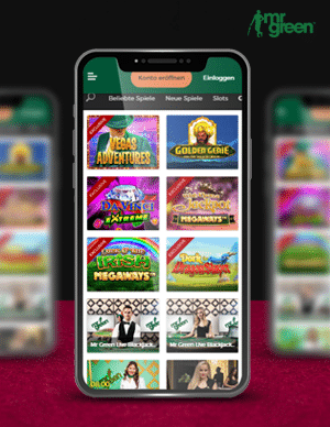 Mr Green Casino für ein Handy